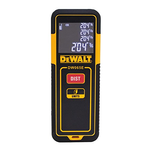 DEWALT DW065E Lightweight Laser Distance Measurer