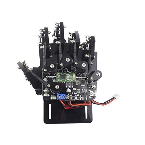 DIY Robot Hand Five Fingers somatosensory gloves wireless somatosensory controller exoskeleton robot remote control robot palm RC robot toy Right Hand