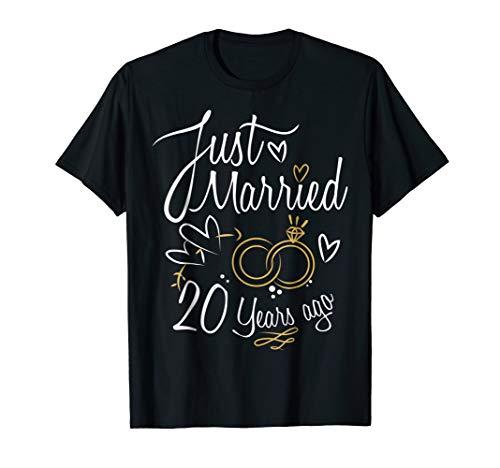 20 Years Marriage Gift - 20th Year Wedding Anniversary Shirt