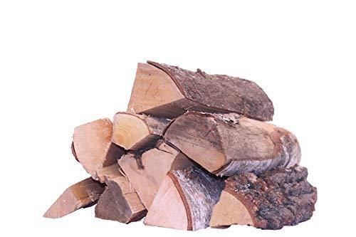Kaminholz Birke - unbehandelt |15-18% ! Restfeuchte - 33cm Scheitlänge | Aus deutscher nachhaltiger Forstwirtschaft | Brennholz, Feuerholz, Grillholz, Lagerfeuer, Feuershale, ofenfertig