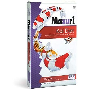 Mazuri Koi Pond Nuggets, 20 lb Bag