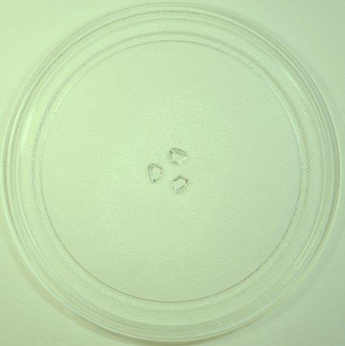 Mikrowellenteller / Drehteller / Glasteller für Mikrowelle # ersetzt TCM Mikrowellenteller # Durchmesser Ø 32,5 cm / 325 mm # Ersatzteller # Ersatzteil für die Mikrowelle # Ersatz-Drehteller # OHNE Drehring # OHNE Drehkreuz # OHNE Mitnehmer