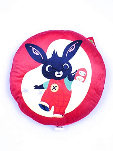 Bing Bunny Kissen Bing, rot, 45x45x15
