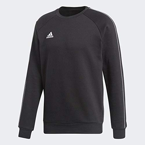 adidas Herren CORE18 SW TOP Sweatshirt, Black/White, L