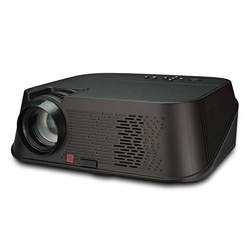 NCBH Draadloze projector home theater HD 1080P projector kan muren projecteren voor smartphone, tablet, computer, huis, kantoor en reizen