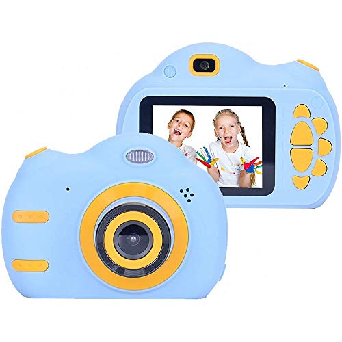 DONGZHESHANGCHENG Kids Toys for Old Boys Girls, Kids Camera 1080P 2.4 inch HD Children Digital Cameras for Girls Best Birthday Toys,Toddler Camera Gift for 3-9 Year Old Boy (with 16G SD Card)