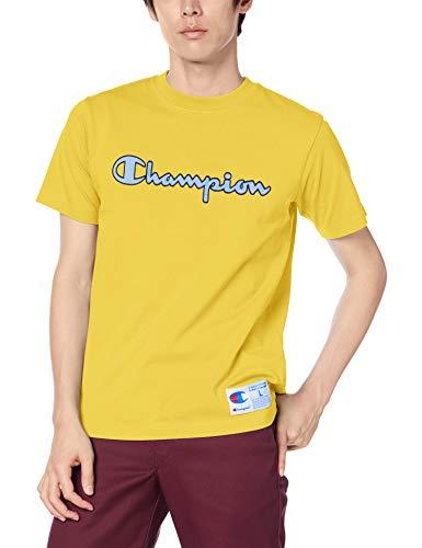 [チャンピオン] スクリプトロゴTシャツ アクションスタイル C3-Q301 メンズ イエロー L