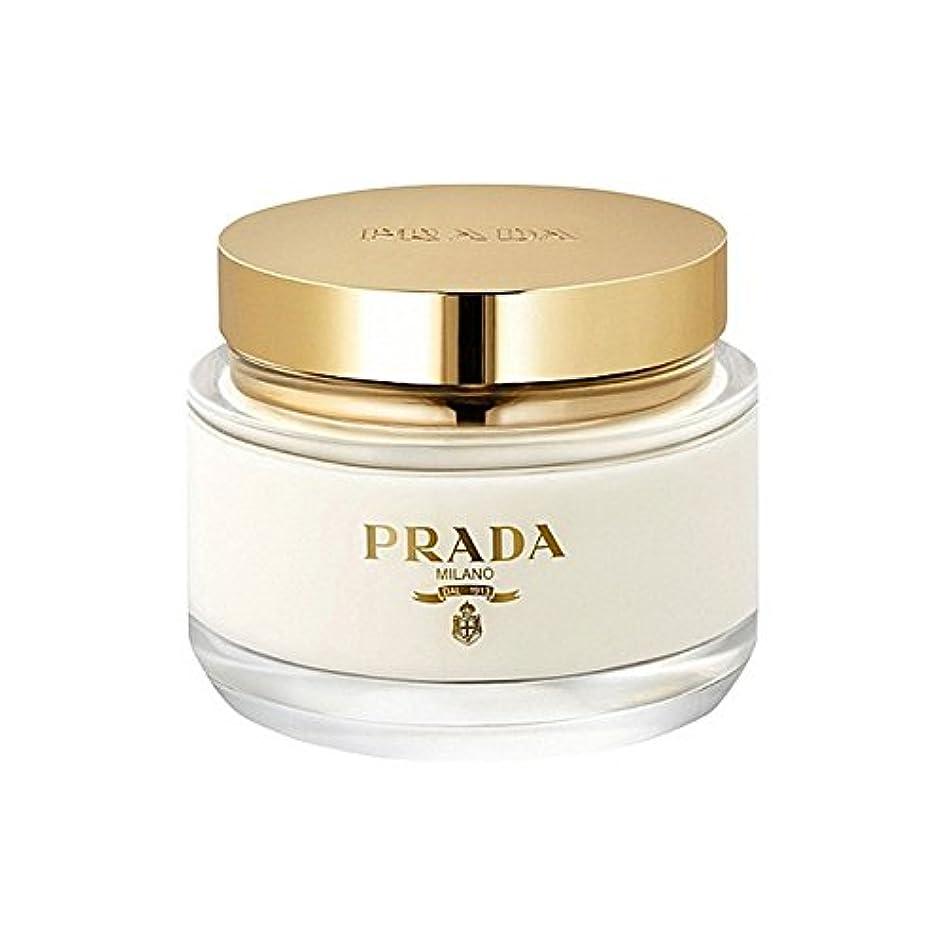 宇宙船群がる悪性のプラダラファムボディクリーム200ミリリットル x2 - Prada La Femme Body Cream 200ml (Pack of 2) [並行輸入品]