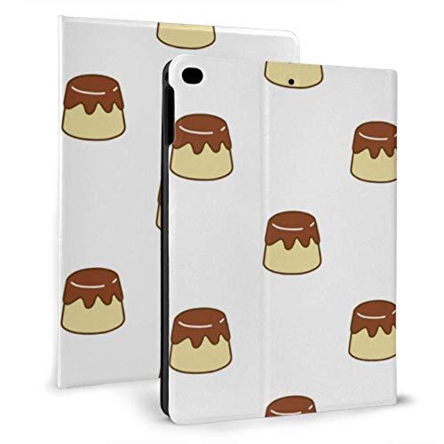JIUCHUAN Ipad Carrying Case Pudding Or Custard Delicious Ipad Protective Sleeve For Ipad Mini 4/mini 5/2018 6th/2017 5th/air/air 2 With Auto Wake/sleep Magnetic Ipad Kids Cover