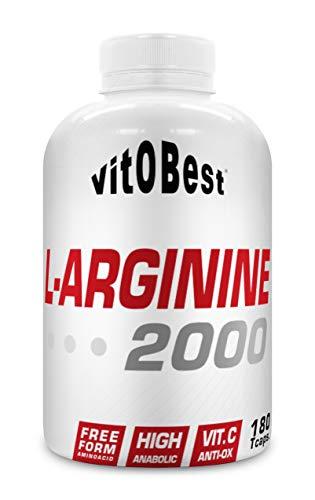 L-ARGININE 2000-180 TripleCaps. - Suplementos Alimentación y Suplementos Deportivos - Vitobest