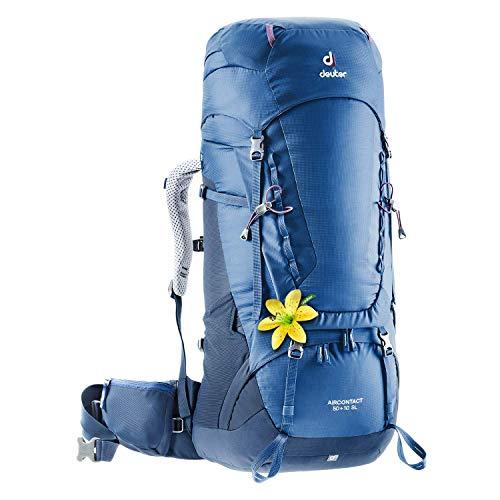 deuter Aircontact 50 + 10 SL 2020 Model Damen Trekkingrucksack, Blau, Einheitsgröße