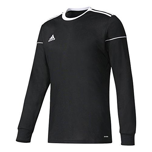 adidas Squadra 17 Jersey Longsleeve, T-Shirt A Manica Lunga. Bambino, Black/White, 1112