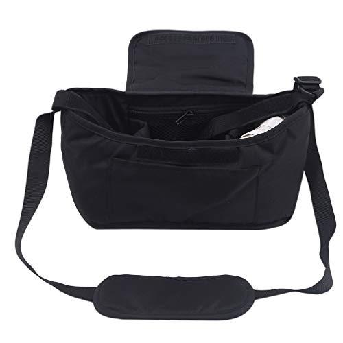 YiYour Anti Thief Crossbody Bag Lightweight Travel Shoulder Purses Handbags for Travel Camping,Black