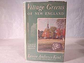 Hardcover Village greens of New England; Book