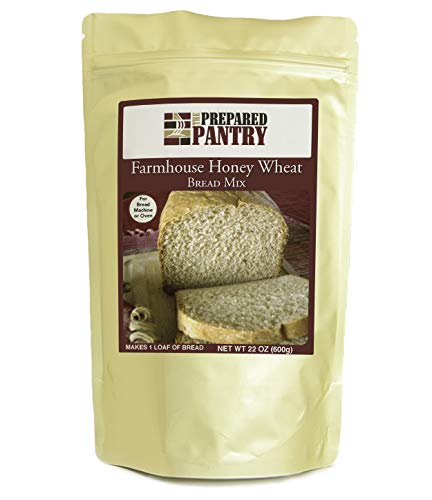 The Prepared Pantry Farmhouse Honey Wheat Bread Mix; Single Pack; For Bread Machine or Oven