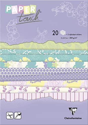 Clairefontaine - Papel para Origami, Papel, Jardín de Verano, A4