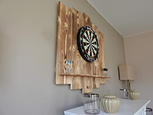WDS Darts Sports Holz Surround, Burned - 4