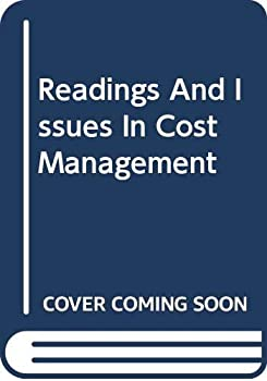Paperback Readings And Issues In Cost Management Book