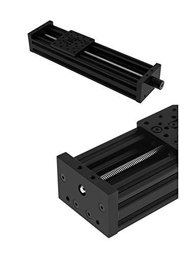YAZHI-MILA Accessoires imprimante 3D Imprimante 3D axe Z Plomb Vis T8 Z Axe DIY C-Poutre coulissante Table 200mm 250mm 500mm Actionneur linéaire Bundle Kit 3D pièces et Accessoires d'imprimante