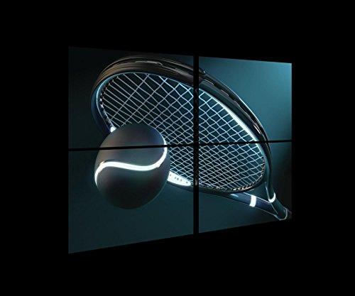 Tessuto con Assi in Legno Braun,Weiss Motivo: Cuore 4x60x40 120cm. x 80cm. S10 FORWALL AMF11789/_PS10 Stampa Artistica su Tela