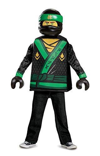 LEGO Ninjago Film 23474L  Lloyd Classic Kostüm, 4-6Jahre
