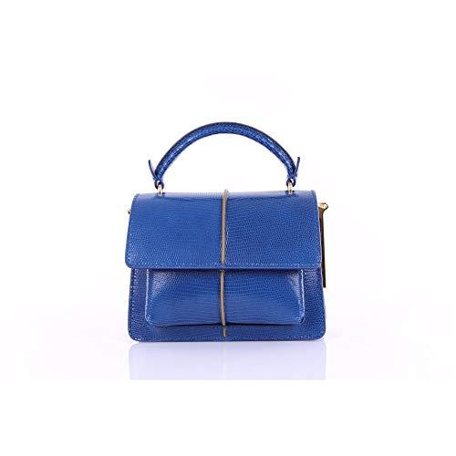 Marni BMMP0027Q0P3356 Bolsos de mano Mujer Azul cobalto UNI