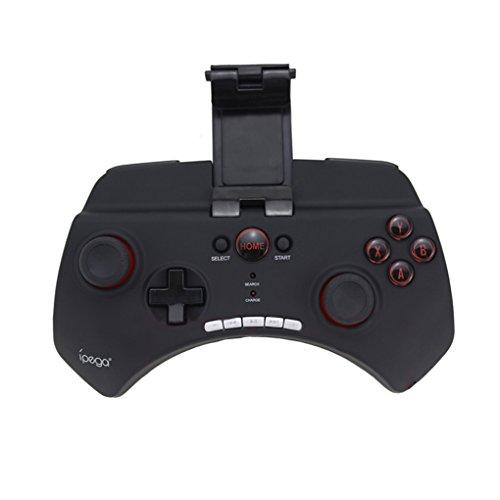 Elenxs IPEGA PG-9025 Mando de Juegos inalámbrico del Juego de Bluetooth IPEGA, Gamepad telescópica, Juego telescópica Gamepad Joystick para MC4 para Wild Blood para el Helio Boy para el teléfono Andr