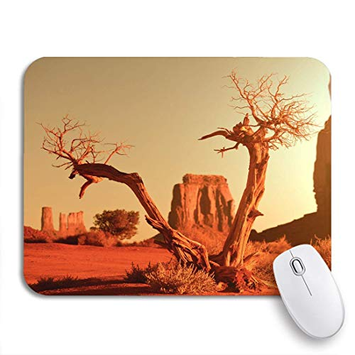 Gaming mouse pad rote wüste monument valley utah usa arizona amerikanische ureinwohner rutschfeste gummi backing computer mousepad für notebooks maus matten