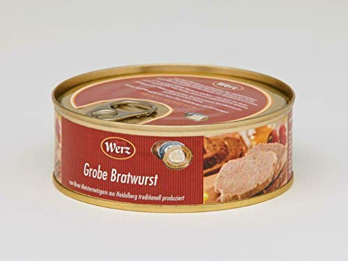 Hausmacher Dosenwurst Bratwurst 200g Dose