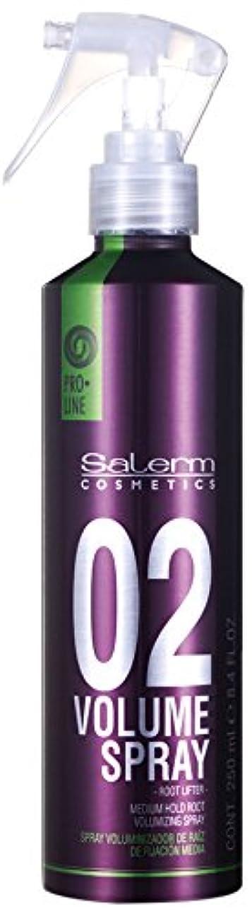 スパイカプセル参照するSalerm 化粧品は、02プロラインボリュームミディアムホールドルート-size 8.4オンススプレー 8.4オンス