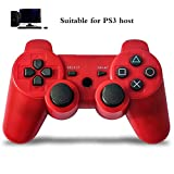 HALASHAO PS3 Controller, PS3 Gaming Controller Rechargeable PS3 Gamepad Joystick Wireless Controller, PS3