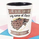 La mente es Maravillosa - Taza con Frase y Dibujo. Regalo Original y Gracioso (Si me dejas sin café Soy como el Norte,...