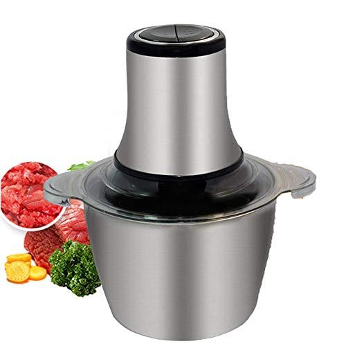 Picadora De Carne, Robot De Cocina De Acero Inoxidable De 3...