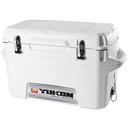 Igloo Yukon Cold Locker Cooler (White, 50-Quart)