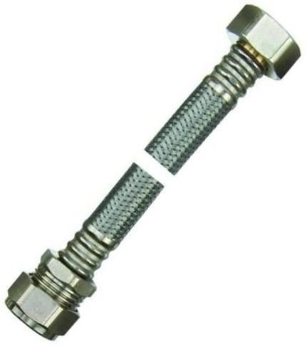 22mm x 3/4'connector- Flexible para grifo 300mm para cisterna aprobado–Bolsa de 5
