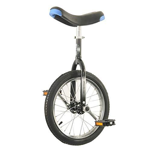 Einrad Erwachsene/Große Kinder 20-Zoll-Einräder, Kinder/Jungen/Mädchen (Alter 9-15 Jahre) 16/12-Zoll-Einrad, Outdoor-Sport-Anfänger Männlich Teen Balance Cycling (Size : 16inch)