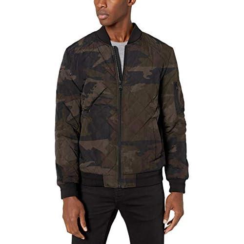 Calvin Klein Men's Quilted Bomber Jacket