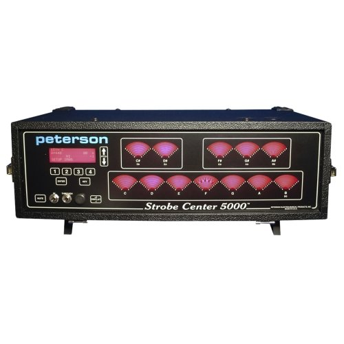 Peterson Strobe Center 5000 II 12 Noten Display Strobe Tuner