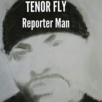 Reporter Man (The Human Teletext)