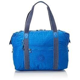 Kipling Art M Cabas, 58 cm, 26 Litres, Bleu (Wave Blue)