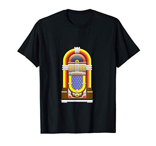 Jukebox Music Songs Fifties Diner T-Shirt