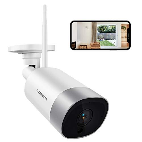 Deatti Wlan IP Kamera Outdoor,Überwachungskamera 3.0 MP HD Wi