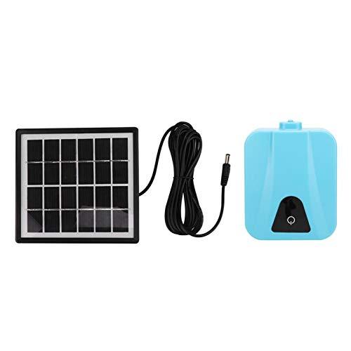 Aireador solar para estanques, bomba de aire para acuarios, bomba de aire con energía solar, panel solar de 6 V, 1,5 W, oxigenador, bomba de aire, aireador con energía solar para acuarios,