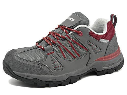 Zapatillas de Trekking para Mujer, Zapatillas de Senderismo Impermeable Zapatos de...