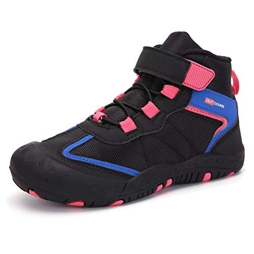 Zapatos de Senderismo Niños Impermeables Transpirable Botas de Montaña Niña Aire Libre Botas de Trekking Gr.25-40...