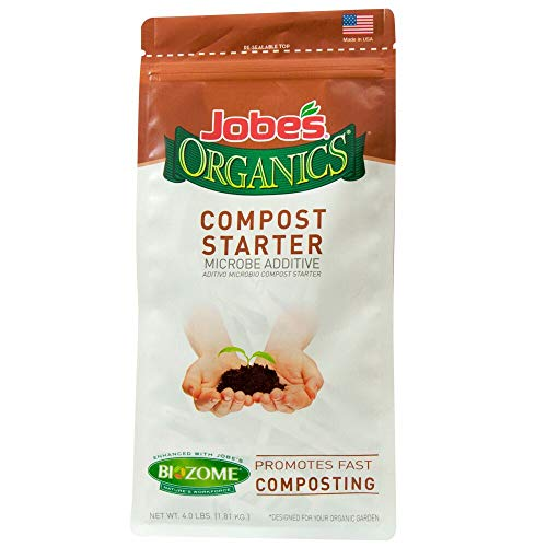 Jobe's Organics Compost Starter 4-4-2, 09926, 4 pounds, 4 lb