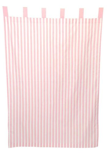 Tadpoles Stripe Curtain Panels shopping 2 Set Year-end gift of Pink
