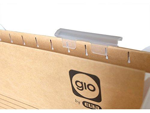 Gio - Soporte para etiquetas de plástico, 25 unidades