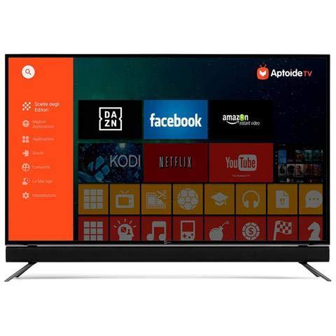 TELESYSTEM TV LED Ultra HD 4K 55  28000166 Smart TV Android TV