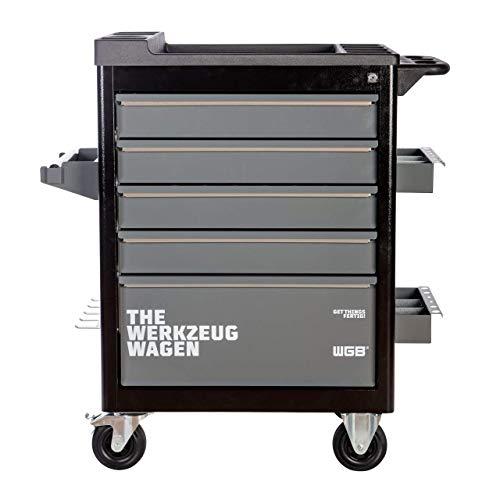 Werkstattwagen leer | 5 Schubladen | No.140 | stabile Stahlblechkonstruktion | WGB